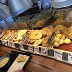 丸亀製麺 - 天ぷらコーナー