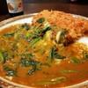Kokoichibanya - 料理写真:豚ヒレカツカレー+チーズ+ほうれん草