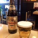 みの助茶屋 - ビール