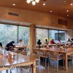 霧の森レストラン - 店内テーブル席