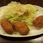 ニュー浅草本店 - カキフライ(490円)