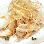 韓国の家庭料理 はなだ - 蒸し鶏白髪ネギ