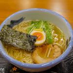 ZUND-BAR - 柚子塩ラーメン(1100円)