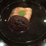 98981658 - お椀                       甘鯛、椎茸