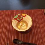和 あすか - 先付け  甘鯛の蕪蒸し