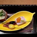 和食バル 音音 - 【先付】前菜四種盛り合わせ