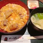 秋田比内や - 料理写真:比内地鶏親子丼