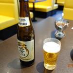 ステーキ。山 - ノンアルコールビール