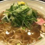 茶カフェ 上辻園 - 九条ねぎラーメン
