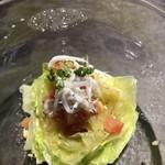 十皿 - レタスのサラダ