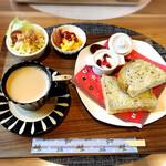 ねこがすき - 料理写真:モーニャングセット