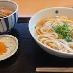 瓢月 - 料理写真:かけ&ミニ天丼