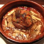 9899407 - メインディッシュ(大っきな椎茸と野菜のトマト煮込みのアヒージョ)