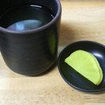 天丼 吉兵衛 - お茶とたくあん