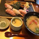 98991003 - 特上寿司定食 2,200円(税別)