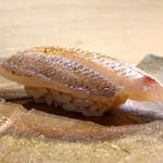 Sushinakagawa - 血鯛(握り)(追加)
