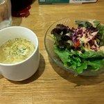 コーボリッコ - スープとサラダ(2018.11)