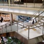 マンゴツリーカフェ - 7階を繋ぐ階段が見えます