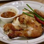 マンゴツリーカフェ - 丸鶏のBBQグリル(ガイヤーン)ハーフ