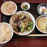 永楽 - 料理写真:回鍋肉定食