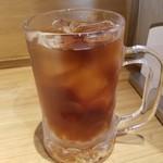 博多もつ鍋 前田屋 - ランチタイムはウーロン茶サービス