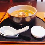 和風ダイニング やえびし - 担々麺のハーフ(((o(*゚▽゚*)o)))♡