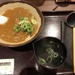 香川 一福 神田店 - カレーうどん 小 (700円)
