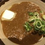 香川 一福 神田店 - バターとネギがトッピングされてます。