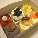 パールモンドール - パールモンドールのプチケーキ