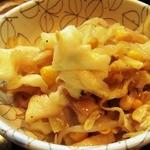 パーラー ガナパティー屋 - キャベツともやしの炒め物
