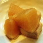パーラー ガナパティー屋 - 大根の煮物
