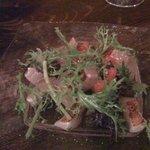 Trattoria Limetta - 金目鯛の炙りカルパッチョ