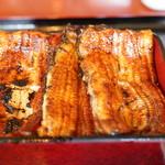 あなごや - 料理写真:厳選国産鰻重大