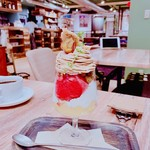en cafe - パルフェ・モンブラン・カシス   1200円