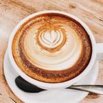 en cafe - カフェラテ ホット  480円