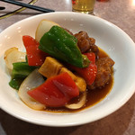 牡丹江飯店 - 酢豚