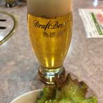 牡丹江飯店 - 生ビール