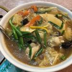牡丹江飯店 - 牡蠣ラーメン