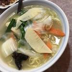 牡丹江飯店 - 干し海老麺
