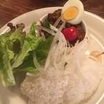 カレー食堂 リトルスパイス - ブナ(スペシャルレバーカレー)