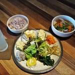 レーベルカフェ トーキョー - 本日のご飯、1050円