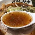 味楽 - スパイシー焼き醤油のスープ