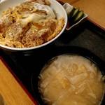 長寿庵 - かつ丼