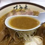 すみれ - 味噌ラーメンのスープ