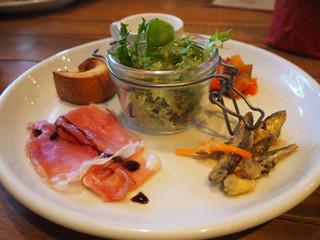 Italian Kitchen VANSAN 用賀店 - ランチ前菜盛合せ