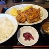 ごはん屋 山ひろ - 料理写真:唐揚げ定食680円