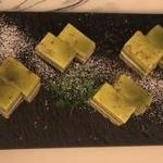 イタリアンバル ヴィーノ - デザート 抹茶ケーキ
