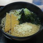 名代 箱根そば - 料理写真:朝そば(温)320円