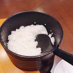 和風ダイニング やえびし - 釜炊きご飯だそうです( ・∇・)