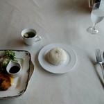 花いろどりの宿 花游 - 料理写真:くじらカツセット 1620円